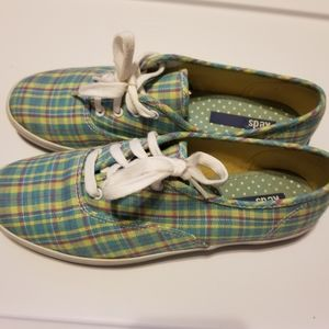 Keds Shoes - KEDS PLAID multicolor blue yellow red 7